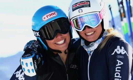 Asja Zenere - Sponsorizzazione Coppa del Mondo di Sci Alpino