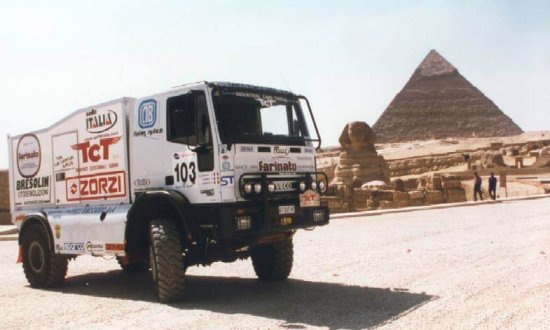 Egitto - Rally dei Faraoni con camion ufficiale IVECO 4x4